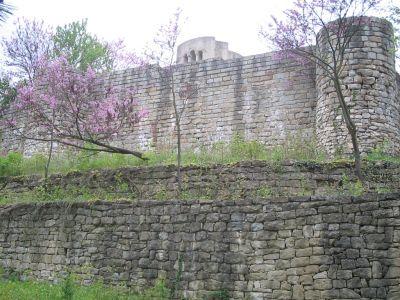 Round church - supporting wall  - AM Veliki Preslav