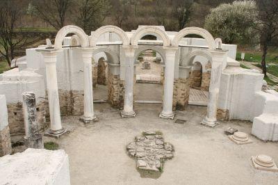 Round church - rotunda  - AM Veliki Preslav